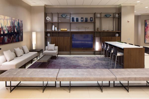 酒店輕松和舒適的空間