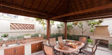 公司資質-嘉定綠地天呈別墅美式風格實景圖