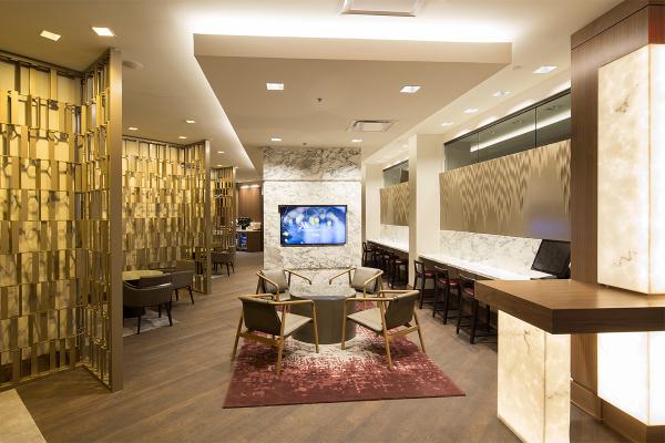 酒店奢華舒適的環境