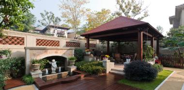公司文化-嘉定綠地天呈別墅美式風格